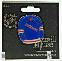 New York Rangers NHL Maxwell House Collectible Pin Button New Old Stock - $9.81