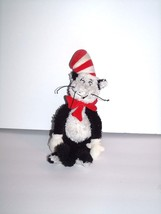 """Manhattan Toy Dr. Seuss Black and White Cat in the Hat Plush Doll 13"""" 2001 - $6.41"""