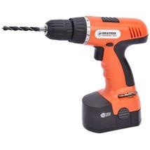 78-Piece 18 Volt 110V Cordless Drill Set Construction Work Screwdriver New - $77.99