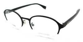 Fendi Rx Eyeglasses Frames FF 0338/F 003 52-19-140 Matte Black Shiny Bla... - $147.00