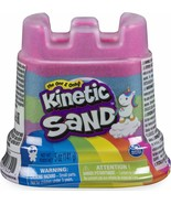Kinetic Sand Rainbow Castle Container Mixed Colours - $9.99