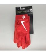Nike Adult Huarache Elite Baseball Batting Gloves Red White PGB643-663 H... - $39.99