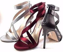 Imagine by Vince Camuto Devin Platinum Stiletto Strappy Dressy Sandal Size 7.5 - $54.50