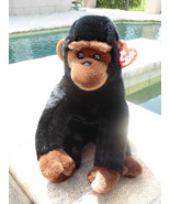 TY Beanie Babies Pillow Pals Congo Monkey Gorilla Ape Retired Collectibl... - $10.00