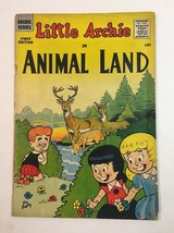 LITTLE ARCHIE IN ANIMAL LAND #1 1957 ARCHIE COMIC UNGRADED - $37.95