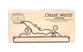 Classic Motifs Bat 12 Inch Split Bottom Craft Holder - $17.00