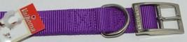 Valhoma 741 24 PR Dog Collar Purple Double Layer Nylon 24 inches Pkg 1 image 2