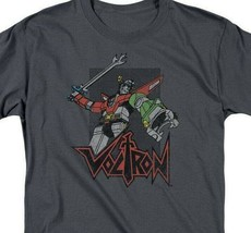 Voltron t-shirt Animated retro 80's TV series 100% cotton graphic tee DRM220 image 2
