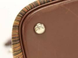 HERMES Bolide 35 Vibrate Brown Handbag Shoulder Bag #D Authentic 5473007 image 5