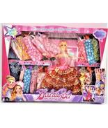 GIRL FUN TOYS Fashion Doll with Lots of Cloths - $15.99