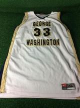 George Washington University Team Issued Nike #33 Jamila Bates XL Jersey - $29.99