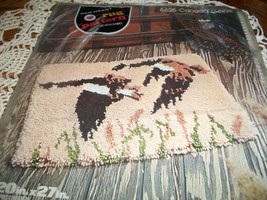 Red Heart Rug Pattern 6625~Canada Geese - $28.00