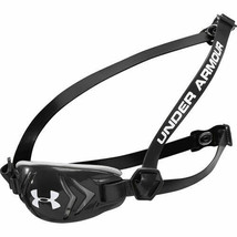 Under Armour Youth Protective Armourshield Black Football Chin Strap Size Small  - $15.88