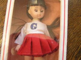 Vintage 1978 The World of Ginny CHEERLEADER black hair Vogue Doll NIB - $15.99