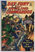 Sgt Fury and His Howling Commandos #36 ORIGINAL Vintage 1966 Marvel Comics - $14.84