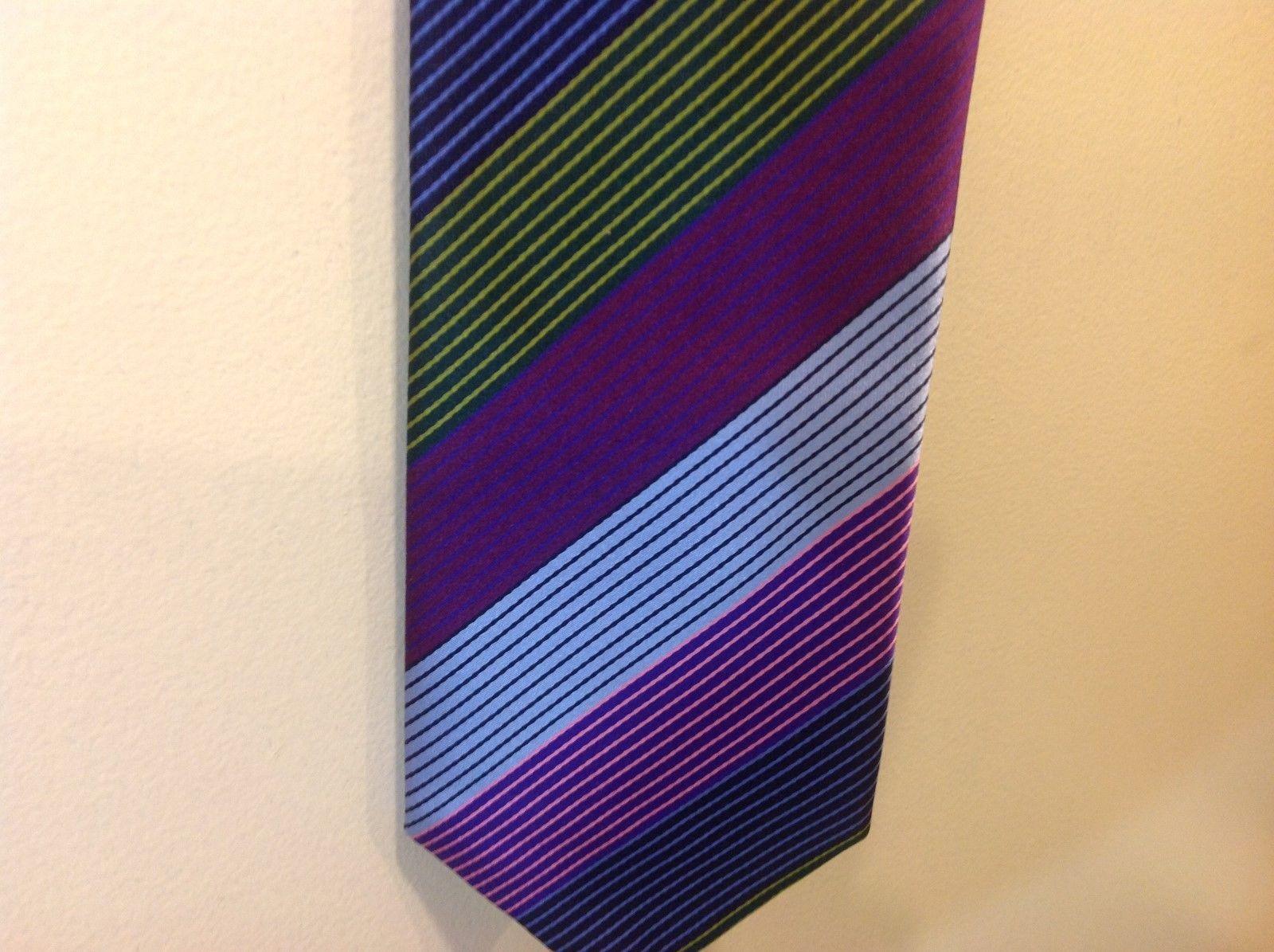 BCBG Attitude Hand Sewn Multicolor Silk Tie