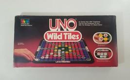 Uno Wild Tiles Board Game 1984 International - $18.22