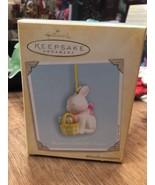 Hallmark Keepsake Ornament Bunnys Dancing Eggs 2004 Tree Ornament Holiday - $12.45