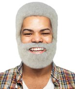 Uncle Drew Wig with Full Beard Set | White TV/Movie Wigs - $29.85