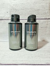 "2 - Bath & Body Works ""Graphite"" Mens Deodorizing Body Spray - $26.95"