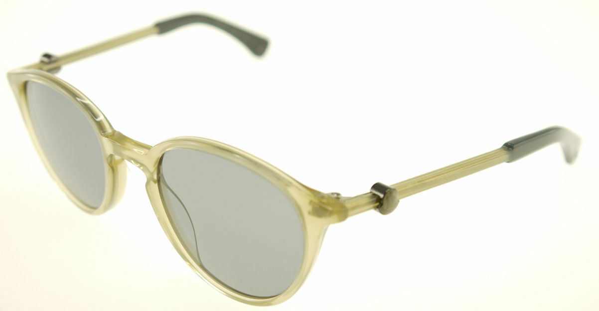 MONCLER MC015S-07 Light Beige / Gray Sunglasses MC 015S-07