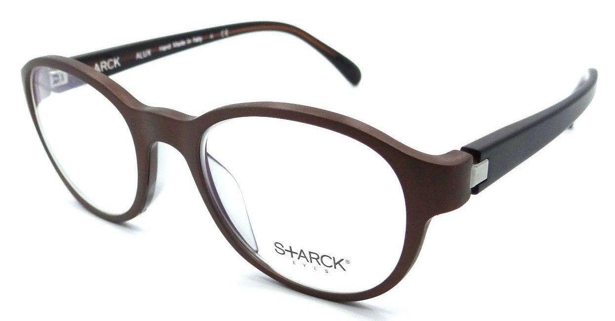 Starck Eyes Mikli Rx Eyeglasses Frames SH2011 0002 49x19 Matte Brown Alux Italy - $105.06
