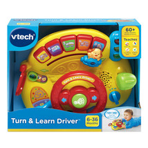 VTech Turn and Learn Driver Steering Wheel Toy Fun Baby Car Toy - $19.79