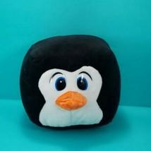 "Cube Black White Penguin Plush Stuffed Animal Soft Figure 4"" Six Flags Toy - $8.90"