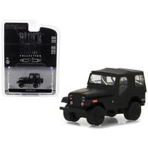1970 Jeep CJ-5 Black Bandit Series 19 1/64 Diecast Model Car by Greenlig... - $13.15