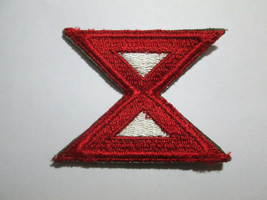 Us Army Wwii 10th Army Color Ssi Patch c/e - $6.00