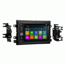 Bluetooth In Dash GPS Navigation DVD CD Player Stereo Radio Unit for Ford F150 image 1