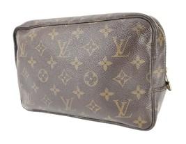 Auth VTG LOUIS VUITTON Trousse Toilette 23 Monogram Cosmetics Pouch Bag ... - $179.00