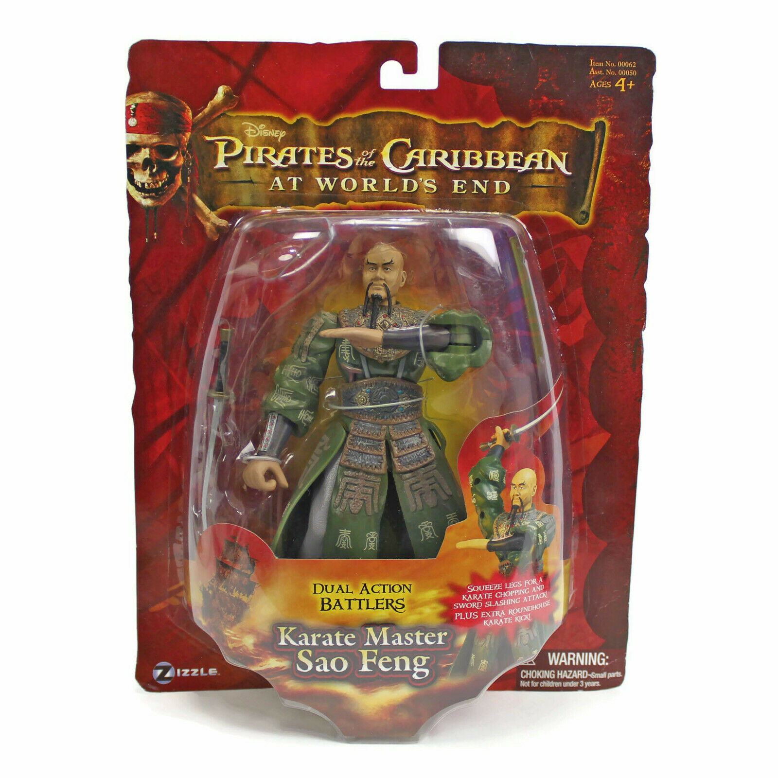 Pirates of the Caribbean | Karate Master SAO FENG | Action Figure | Worlds End