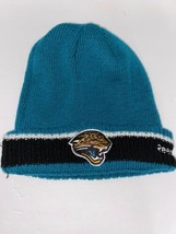 Reebok NFL vintage Jacksonville Jaguars winter Hat Beanie one size - £11.94 GBP