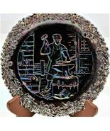 Fenton Carnival Glass Commemorative No.3 Plate Annual Series Of Collecto... - $18.80