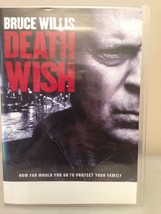 Death Wish (DVD, 2018) Ex-library No Bluray or  Digital - $6.83