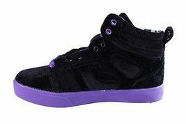 Osiris Raider Womens RAIDER Sneakers Purple and Black 5 B(M) US image 4