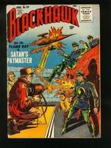 BLACKHAWK COMICS #101 1956-FLAME RAY-SATANS PAYMASTER-QUALITY COMICS-  v... - $55.87