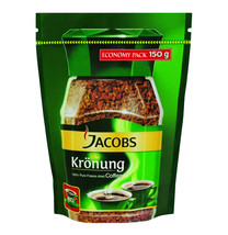 Jacobs Kronung ORIGINAL Instant Coffee -150g POUCH Made in Germany - $13.85