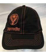 Jagermeister Black Mesh Trucker Snapback Baseball Hat Orange Buck Logo (... - $14.69