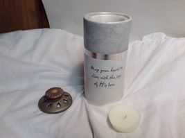 NEW Seagull Studios Heart Warmers Decorative Candle Holder w Box image 4
