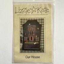 Lizzie Kate OUR HOUSE #068 Cross Stitch Pattern Love Lives Here Personalize Home - $4.95