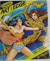 Crayola Art with Edge Wonder Woman 30 Page Adult Kids Coloring Book Bran... - $8.59