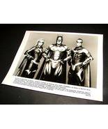1997 BATMAN & ROBIN Movie 8x10 Press Photo GEORGE CLOONEY Chris O'Donnel... - $9.95