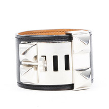 Hermes Collier de Chien Swift Leather Bracelet SZ S - $860.00