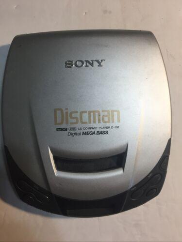 Sony D191 Discman Portable CD Player Electronics Portable Audio ...