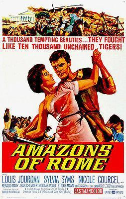 Primary image for Amazons of Rome - 1961 - Movie Poster