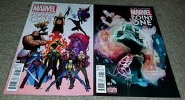 2 Marvel Comics Point One 1 NM set Variant Ed 1st App Kamala Nova 12/15 ... - $1.99