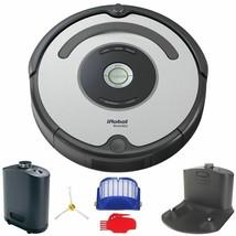 iRobot Roomba B 655 Automatic Silver Vacuum Cleaner Robot, Dock,See Desc... - $2.974,97 MXN