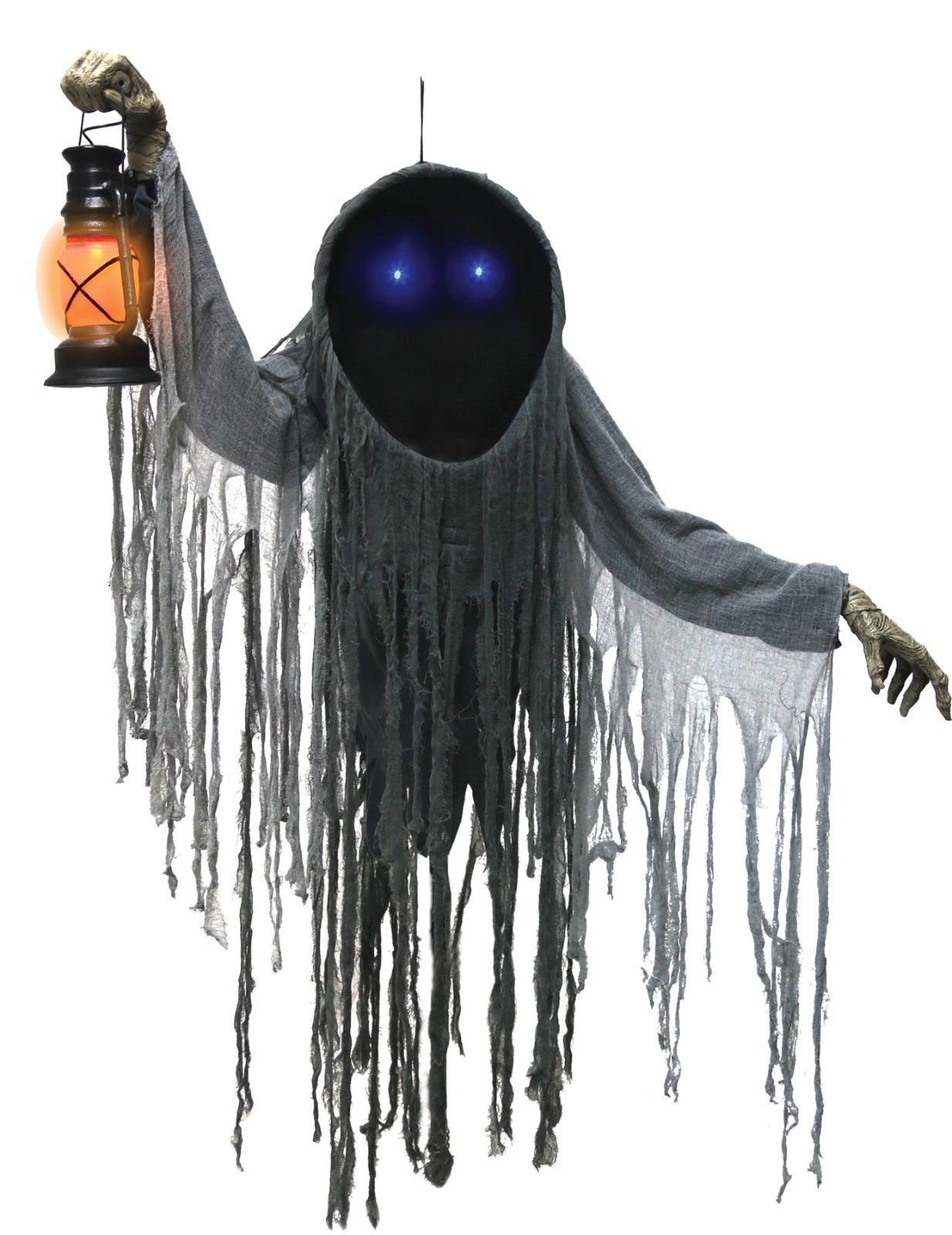 Hanging Looming Phantom Prop Lifesize 5 ft  Halloween Decor FAST SHIP